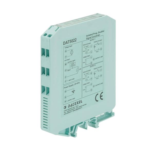Duplicatore convertitore di segnale a 4 vie