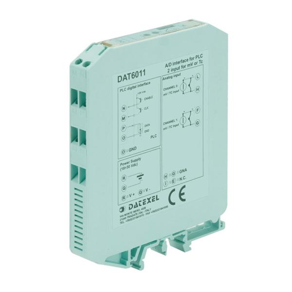 interfaccia AD per PLC 2 canali DAT 6011