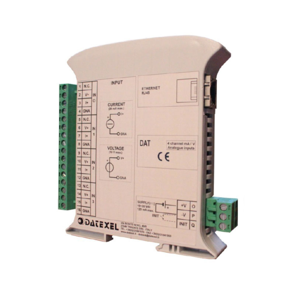 modbus server 4 canali isolati DAT 8024